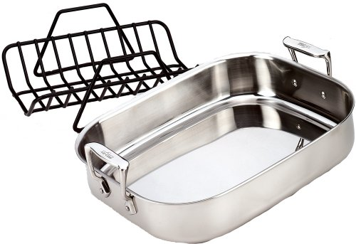 Reviews Product All Clad 51114 Stainless Steel Petite Roti