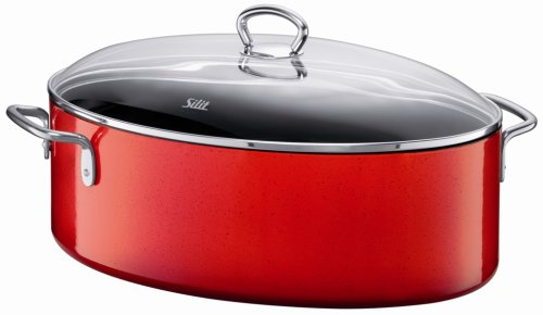 Silit Passion 8 1 4 Quart Oval Roasting Pan With Lid